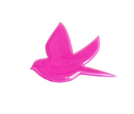 Bird Pin Plum