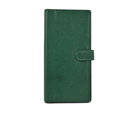 Easton Travel Wallet Emerald Leather