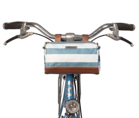 Po Campo Kinga HandleBar Bag Sky Stripes